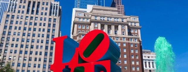 JFK Plaza / Love Park is one of Philadelphia.