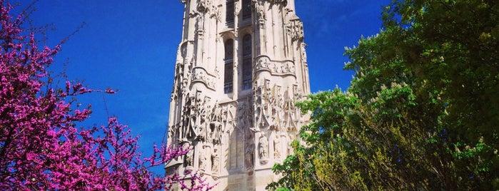 Tour Saint-Jacques is one of Fleur's Paris.