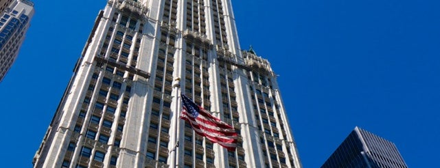 Edificio Woolworth is one of New York City.