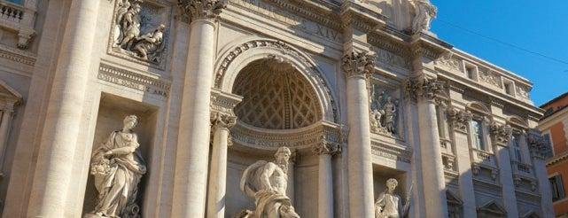Fontana di Trevi is one of Rome / Roma.