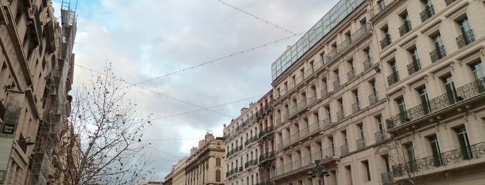 La Canebière is one of Marseille mx zero.