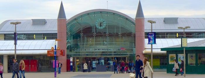 Gare SNCF de Marne-la-Vallée – Chessy TGV is one of Disney Paris.