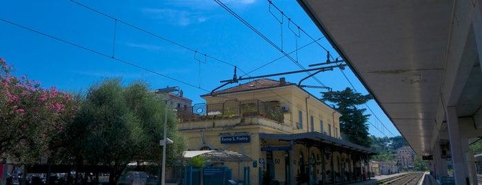 Stazione Roma San Pietro is one of Rome / Roma.