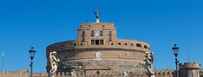 Castel Sant'Angelo is one of Rome / Roma.