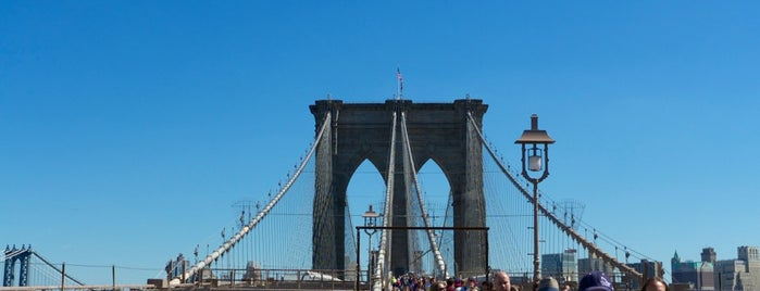Brooklyn Bridge is one of New York City.