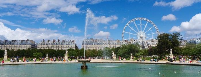 Jardin des Tuileries is one of dex.