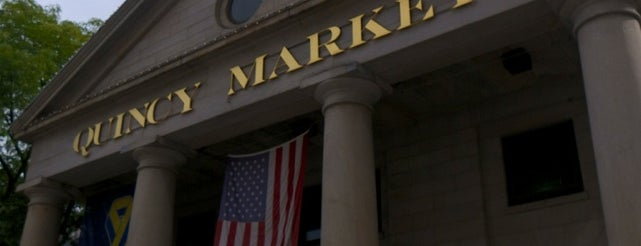 Quincy Market is one of Boston.