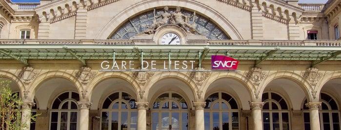 Gare SNCF de Paris Est is one of Noël Paris.