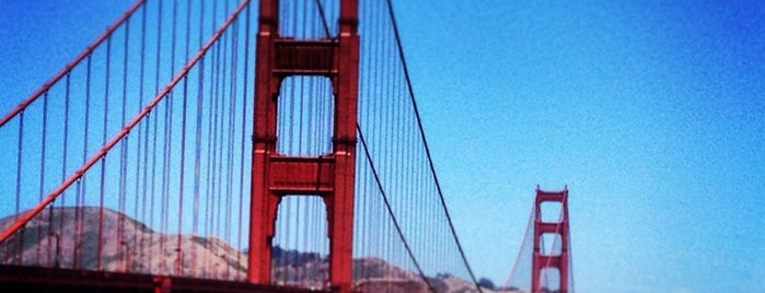 Golden Gate Overlook is one of San Fran.