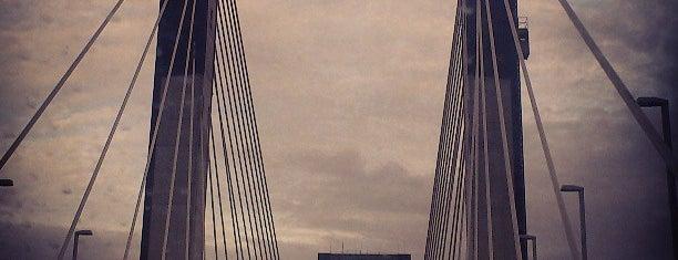 Puente del Quinto Centenario is one of Lugares guardados de Evgeny.