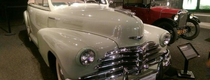 Petersen Automotive Museum is one of LA Road Trip.