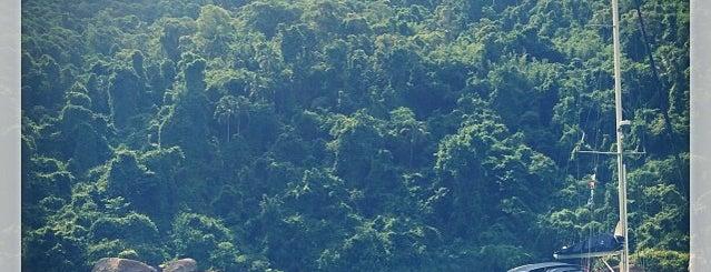 Ilha do Algodão is one of Paraty.