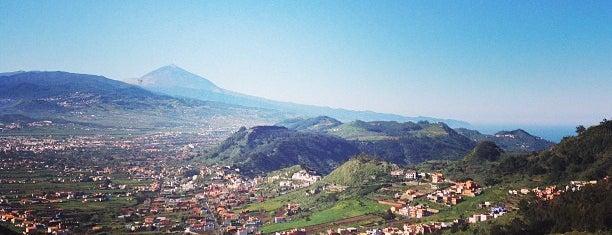 Mirador de Jardina is one of Islas Canarias: Tenerife.