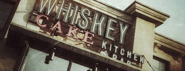 Whiskey Cake Kitchen & Bar is one of Dallas Restaurants List#1.