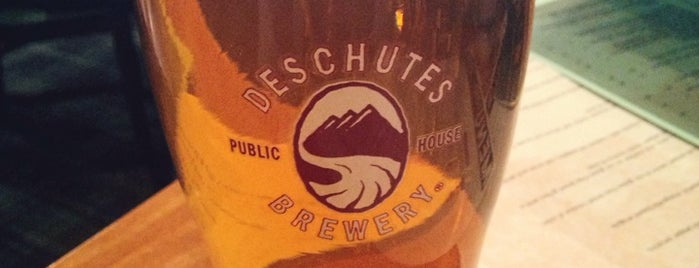 Deschutes Brewery Portland Public House is one of PDX.