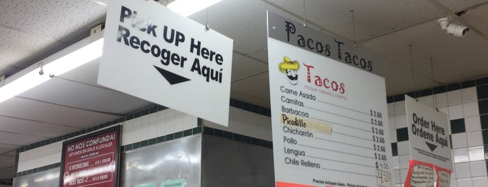 Pacos Tacos is one of Lugares guardados de Andy.