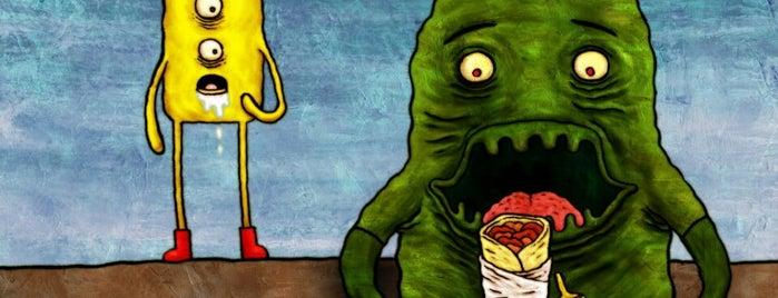 Yum Yum is one of Bob'un Kaydettiği Mekanlar.