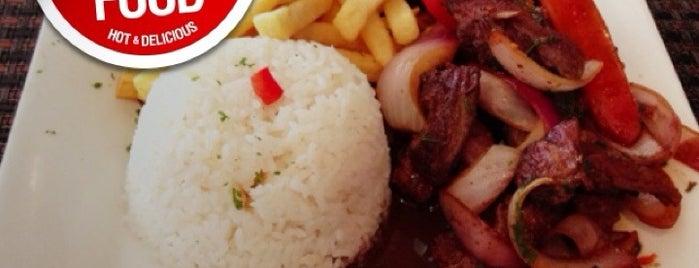 Rizio's Peruvian Cuisine is one of Tempat yang Disimpan Lili.