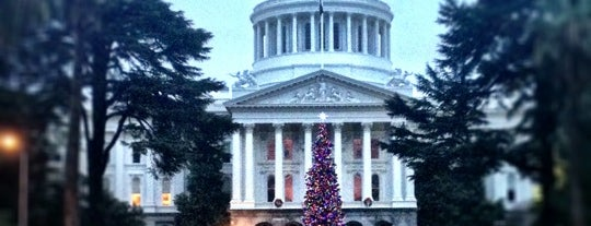 California State Capitol is one of West Coast Sites.