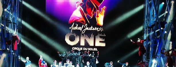 Michael Jackson ONE Theater is one of Vegas.