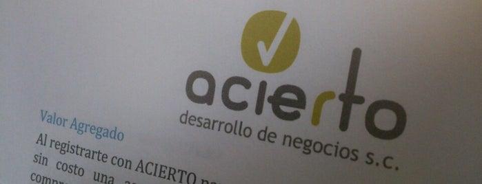 ACIERTO Desarrollo de Negocios, S.C. is one of Kalita 님이 저장한 장소.