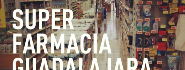 Super Farmacia Guadalajara is one of Paco : понравившиеся места.