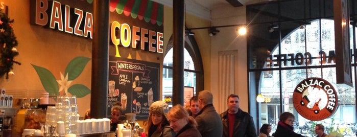 Balzac Coffee is one of Hannover.