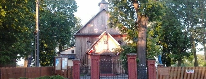 Izdebno Kościelne - kościół is one of สถานที่ที่ Сергей ถูกใจ.