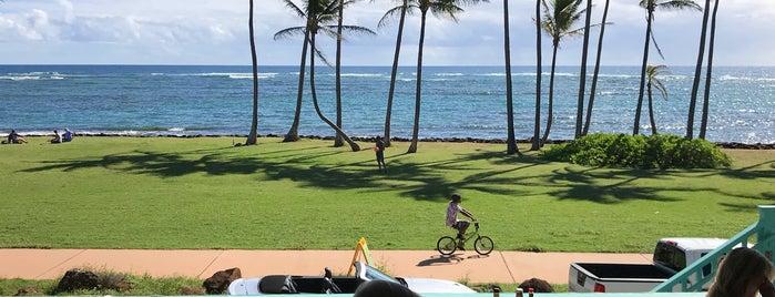 Sam's Ocean View Restaurant and Bar is one of Kauai.