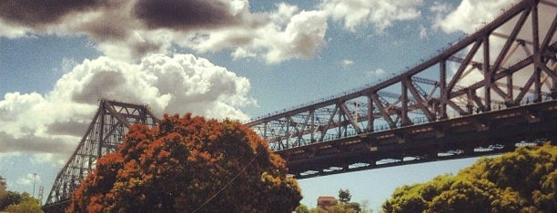 Kangaroo Point is one of Brisbane.