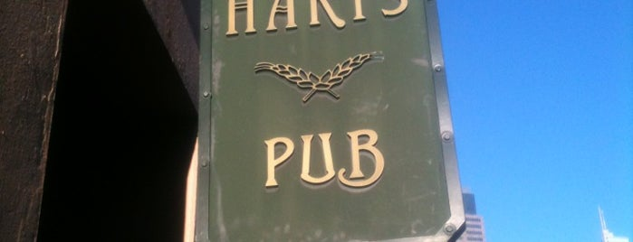 Harts Pub is one of Down under? I hardly know her!.