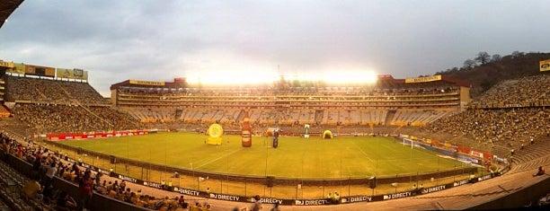 Estadio Monumental Banco Pichincha is one of Estadios.
