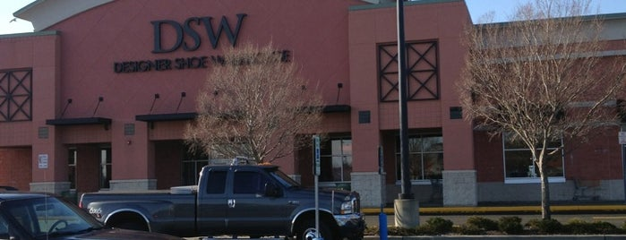 DSW Designer Shoe Warehouse is one of North Fork Fun and Games.