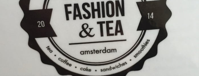 Fashion and Tea is one of Amsterdam 🎉.