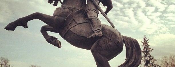 Памятник Евпатию Коловрату is one of Москва и загородные поездки.