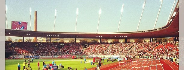 Stadion Letzigrund is one of Part 3~International Sporting Venues....