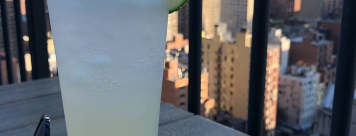 The Blue Rooftop is one of nyc outdoor eats & drinks.