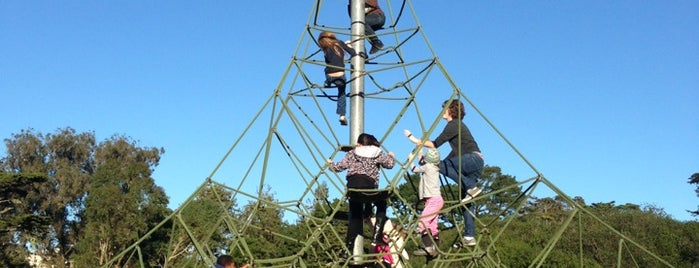 Golden Gate Park Children's Playground is one of Baby Weekend Spots (1 year old).