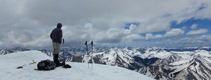 La Plata Peak is one of 14ers.