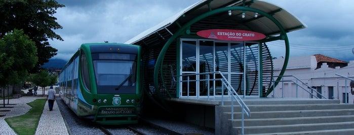 Estação do Crato (Metrô) is one of Dicas.