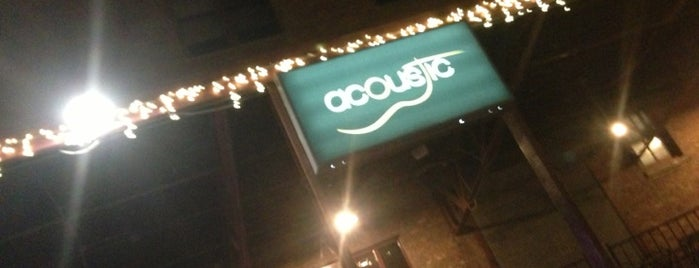 Acoustic is one of Diners Drive-Ins and Dives & Roadfood.