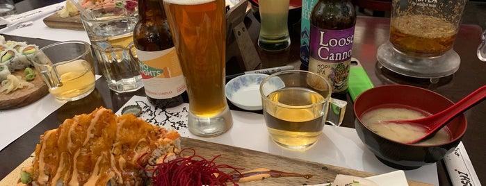 Kenko Sushi is one of Locais curtidos por BECKY.