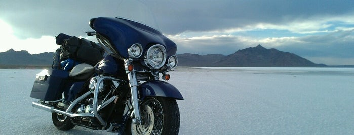 Bonneville Salt Flats International Speedway is one of Lugares favoritos de IrmaZandl.
