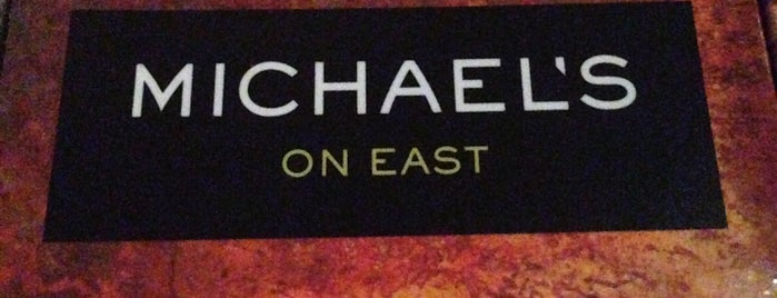 Michael's On East is one of Lieux sauvegardés par Mary.