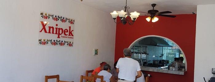 Restaurante Xnipek - Tradición Yucateca is one of Tempat yang Disukai Gabriel.