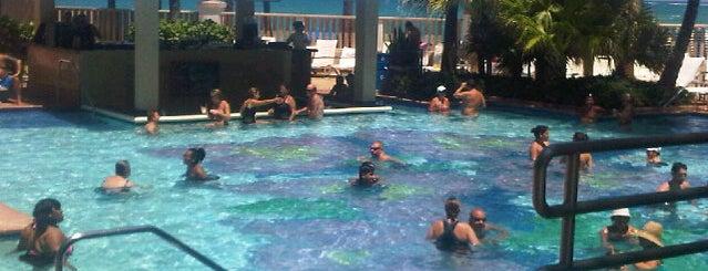 Marriott Pool is one of Posti che sono piaciuti a Jana.