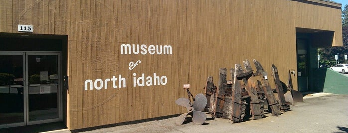 Museum of North Idaho is one of West Coast Sites.