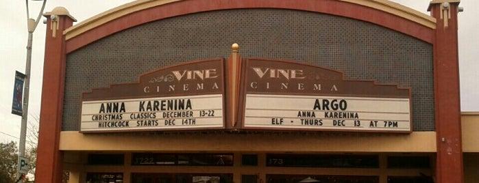 Vine Cinema & Alehouse is one of Posti salvati di kazahel.