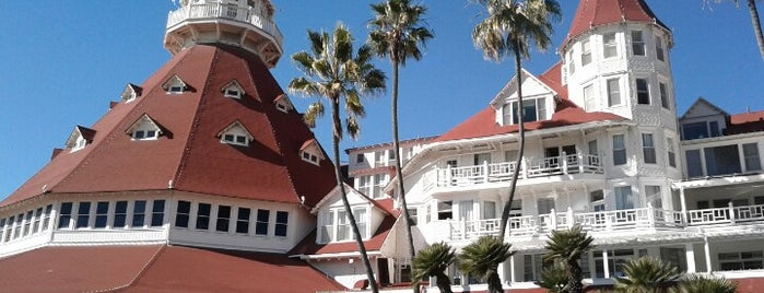 Hotel del Coronado is one of Sunny San Diego.
