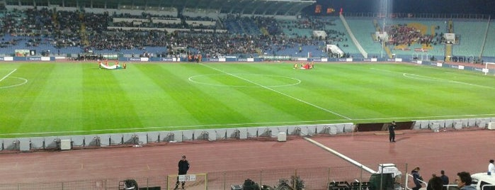 Национален стадион Васил Левски (Vasil Levski National Stadium) is one of Europa League Stadiums.